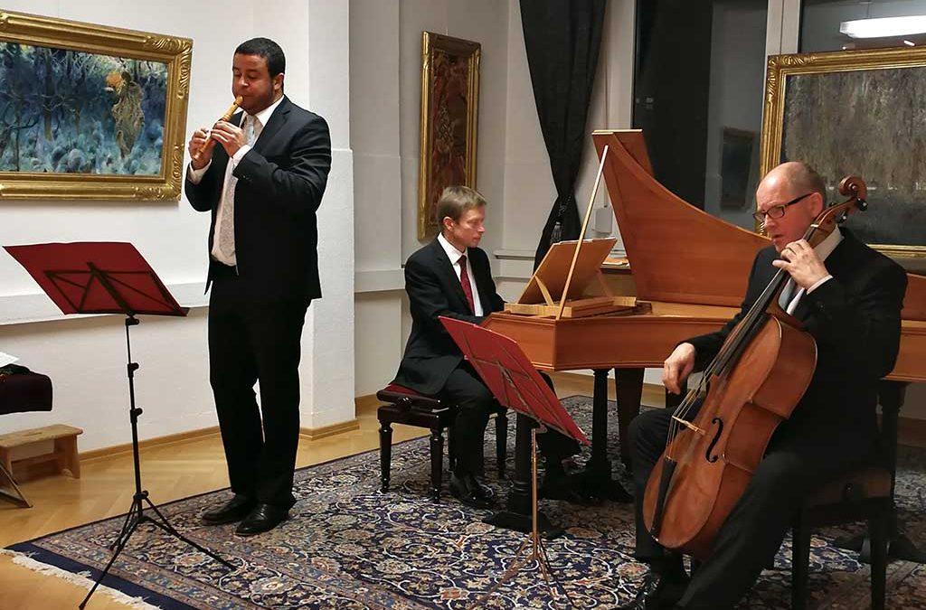 """Foto vom """"Arcangelo Trio"""" mit Daniel Rothert, Gerald Hambitzer und Markus Möllenbeck"""