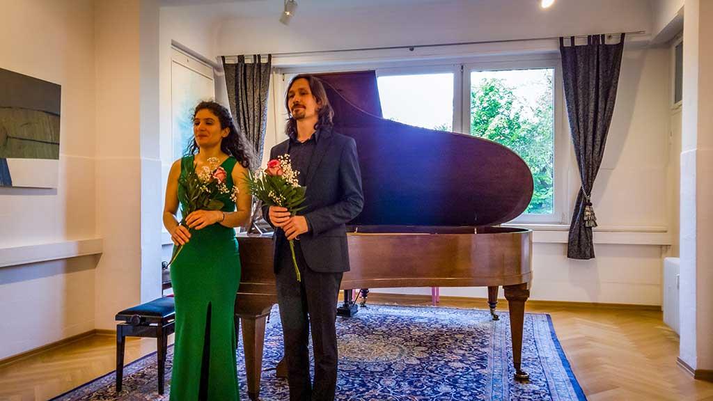 Foto von Georgy Voylochnikov und Sara DeAscaniis