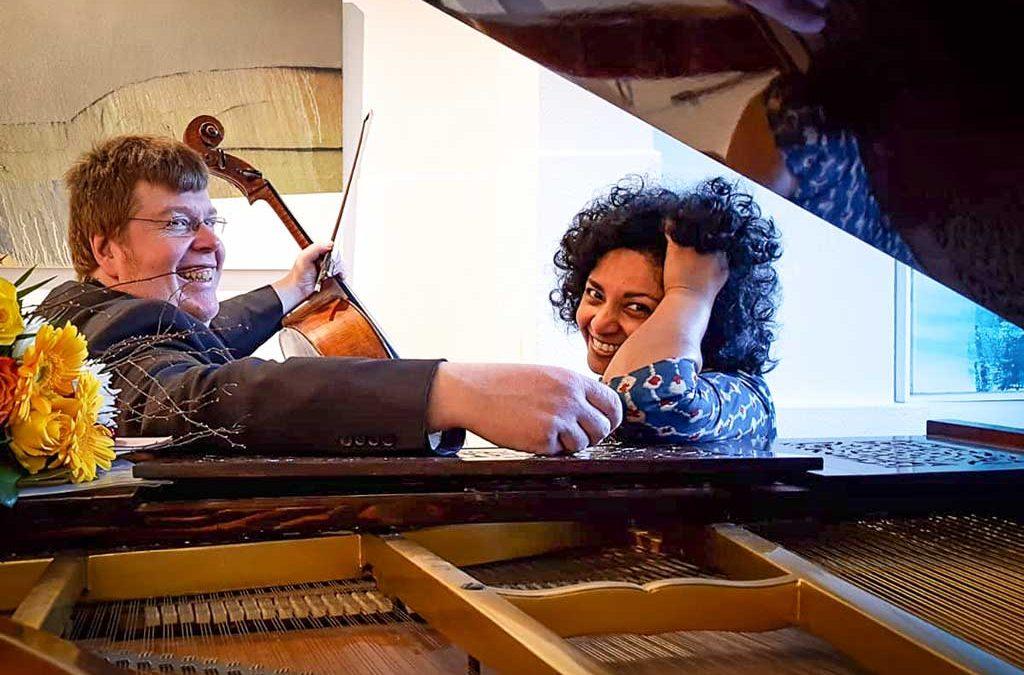 Foto von Sheila Arnold und Guido Schiefen