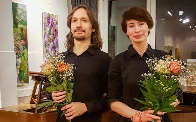 Update 06.02.2020 – Fotos vom KONZERT: Lisa Shklyaver (Klarinette) und Georgy Voylochnikov (Klavier) spielen Werke von L. v. Beethoven, A. Borodin, A. Gretschaninov, A. Berg, I. Stravinsky und J. Brahms