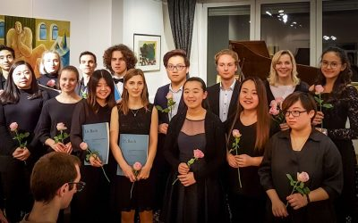 """Update 19.11.2019 – Photos from the CONCERT: Students of Prof. Gesa Lücker play the """"Well-tempered Clavier Vol. II"""" by J.S. Bach"""