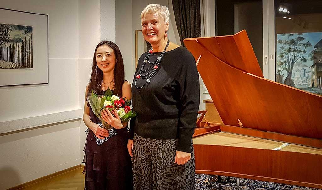Foto von Yuko Inoue und Gabriele Paqué