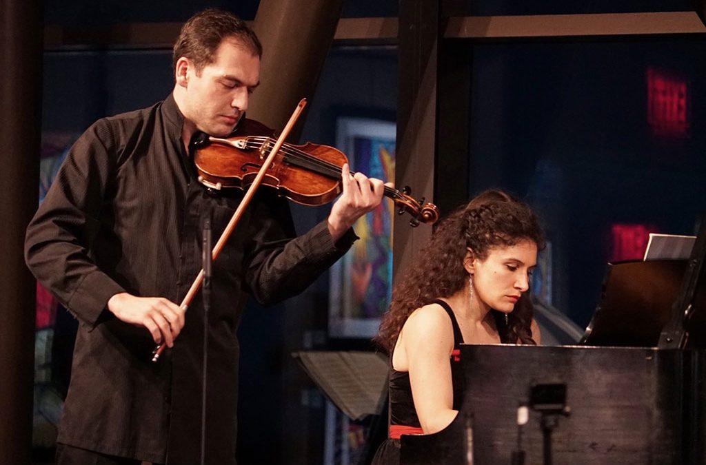 Irakli Tsadaia und Sara De Ascaniis beim Konzert