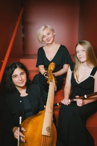 Porträtfoto vom Trio