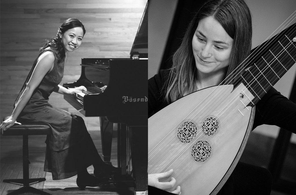 22.05.2021 – KONZERT: Yin Chiang (Klavier) und Susanne Herre (Mandoline) präsentieren Werke von L. v. Beethoven, P. A. Feliziano, B. Bortolazzi und J. N. Hummel
